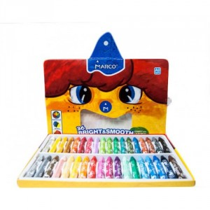Creioane cerate 36 culori Marco 1100OP