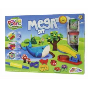 Mega Set Plastilină 8 Culori, Grafix