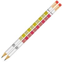 Creion Grafit B cu gumă tabla înmulțirii