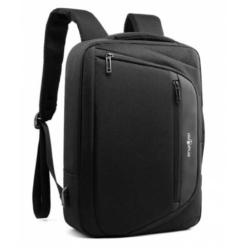Ghiozdan Black Laptop 41x31x11cm căști usb