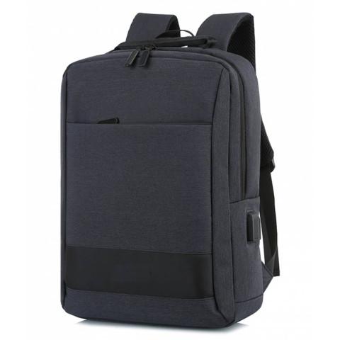 Ghiozdan Black Laptop 40x30x11cm căști usb