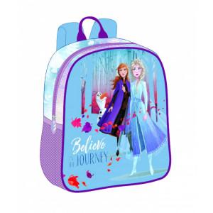 Mini-ghiozdan preșcolari albastru-violet Frozen 2