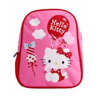 Mini-ghiozdan preșcolari roz Hello Kitty