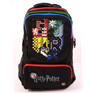 Ghiozdan Teens, negru Harry Potter