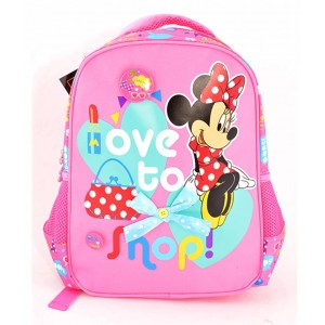 Ghiozdan Grădiniță Minnie Roz-Multicolor Minnie