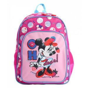 Ghiozdan Pregătitoare roz Minnie Mouse