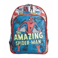 Ghiozdan Pregătitoare verde vintage MARVEL Spider-Man