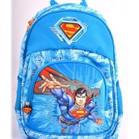 Ghiozdan clasa 0, Superman Albastru