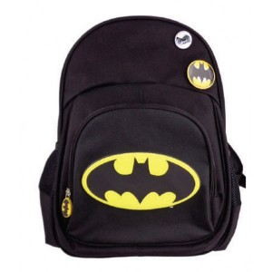Ghiozdan clasa 0, Negru Batman