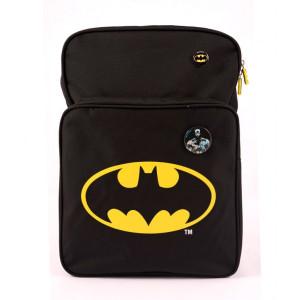 Ghiozdan clasa 1-4, negru, Batman