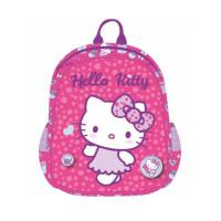 Ghiozdan Grădiniță, roz, Hello Kitty