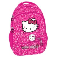 Ghiozdan clasele 1/4 Hello Kitty roz