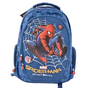 Ghiozdan Spiderman, Clasa 1/4 Albastru