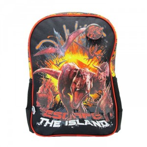 Ghiozdan clasa 0, negru-roșu, Jurassic World 2