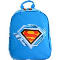 Ghiozdan Grădiniță simplu, Superman Albastru