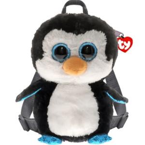 Mini Rucsac Din Pluș Pinguinul Waddles Ty