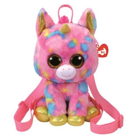 Mini Rucsac Din Pluș Unicornul Fantasia Ty