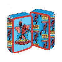 Penar neechipat 2 fermoare, Spiderman Bleu cu Roșu