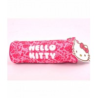 Penar Etui Tubular Hello Kitty Roz Dungi Hello Kitty