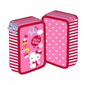 Penar 3 fermoare roz Hello Kitty