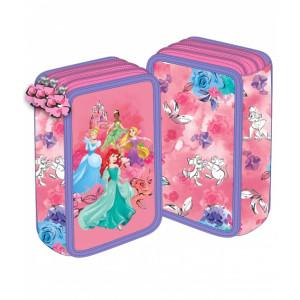Penar 3 fermoare roz Princess