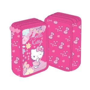 Penar HELLO KITTY Neechipat 3 fermoare roz