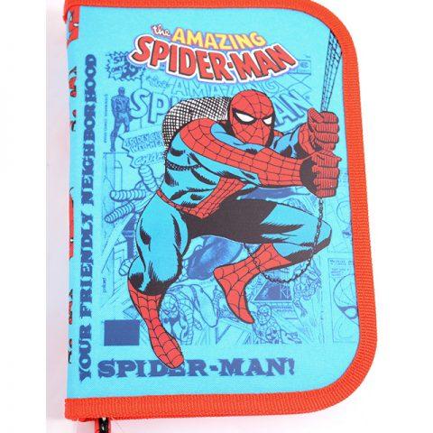 Penar neechipat 1 fermoar, 2 extensii, Albastru Deschis Spider-Man