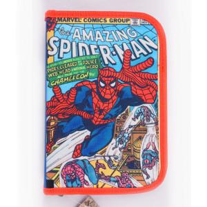 Penar Neechipat, 1 fermoar, 2 extensii, albastru multicolor Spider-Man