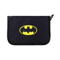 Penar neechipat 1 fermoar, 2 extensii, negru logo Batman