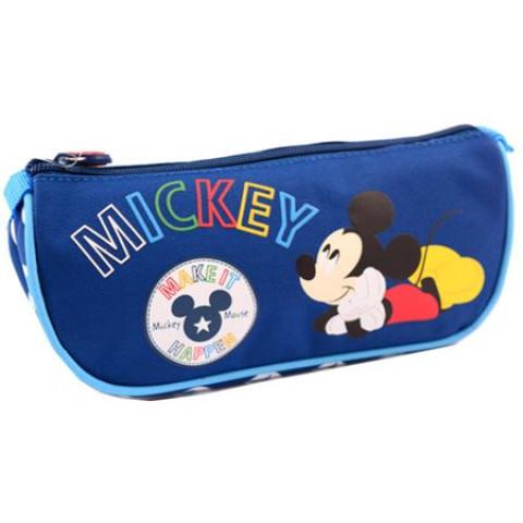 Penar Etui Triunghiular, albastru închis, Mickey Mouse