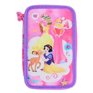 Penar Neechipat 3 fermoare, roz Princess