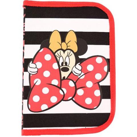 Penar Neechipat, 1 fermoar, 2 extensii, roșu-negru, Minnie Mouse