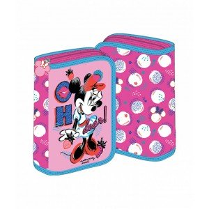 Penar 2 extensii roz Minnie Mouse
