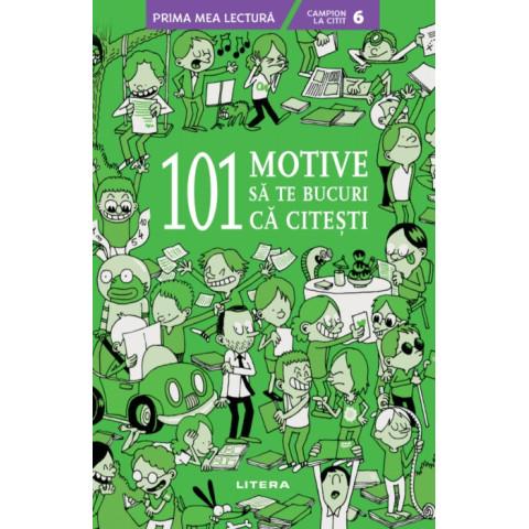 101 motive să te bucuri că citești