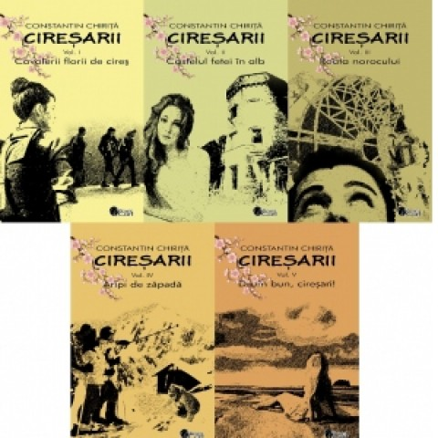 Cireșarii (5 volume). Ed. 2020