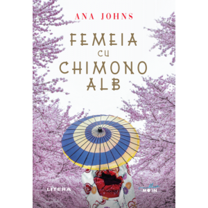 Femeia cu chimono alb