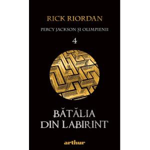 Percy Jackson şi Olimpienii (#4). Bătălia din Labirint
