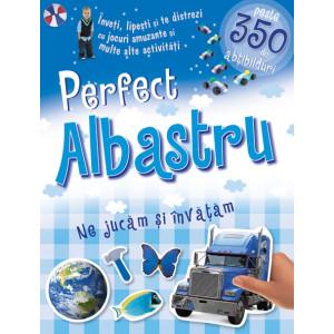 Perfect albastru - Ne jucăm și învățăm