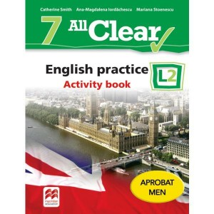 ALL CLEAR. English practice. Activity book. L 2. Lecția de engleză (clasa a VII-a)