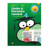 Limba și literatura română. Caiet de lucru pentru clasa a IV-a
