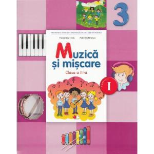 Muzică și mișcare - Clasa a 3-a. Sem. 1 - Manual + CD