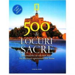 500 de locuri sacre (4 cărți)