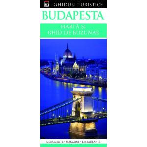 Budapesta - Hartă și ghid de buzunar