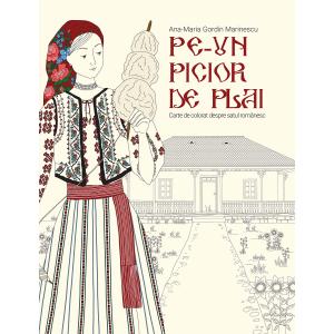 Pe-un picior de plai. Carte de colorat despre satul românesc