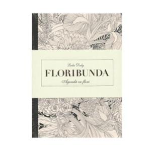 Floribunda. Agendă de colorat cu flori