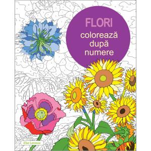 Colorează după numere - Flori