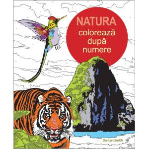 Colorează după numere - Natura
