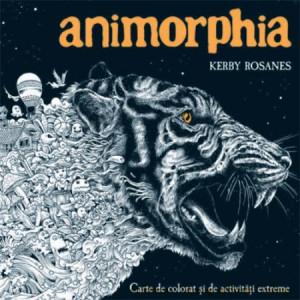 Animorphia. Carte de colorat și de activități extreme