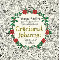 Crăciunul Johannei. Carte de colorat de sărbători