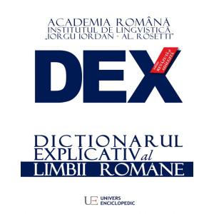 Dicționarul Explicativ al limbii române - ediția 2016 DEX